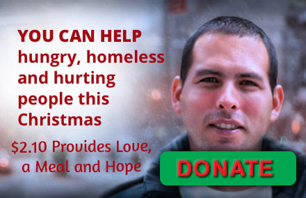 Donate to help the homeless and needy.