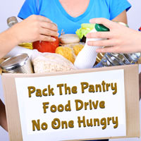 Pack the Pantry - No One Hungry